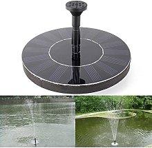 Weichuang - Pompa fontana solare per esterni,