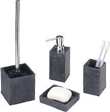 Wenko - Accessori per bagno Slate Rock