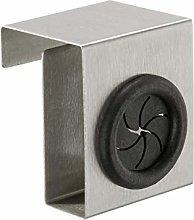 WENKO Porta strofinacci sopraporta Push in acciaio