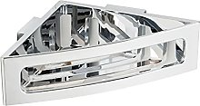 WENKO Power-Loc® portaoggetti Bralia cromo -