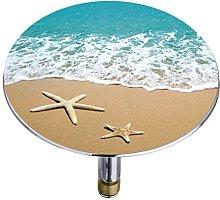 WENKO Tappo vasca da bagno Pluggy® XXL Spiaggia -