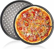 WENTS Stampo Pizza Forato ø 32 cm Teglia per