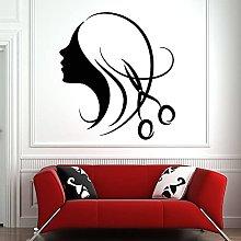 WERWN Salone di Bellezza Wall Sticker Parrucchiere