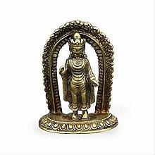 WHBDD Ornamenti Decorativi Pocket Piccola Statua