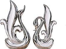 WHBDD Scultura del Cigno, Decorazione della Statua