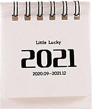 WHK Calendario 2021, Calendario da Tavolo Piccolo