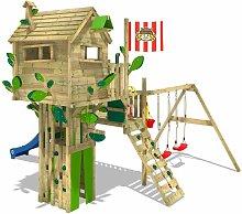 WICKEY Parco giochi in legno Smart Treetop Giochi