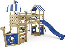 WICKEY Parco giochi in legno StormFlyer Giochi da