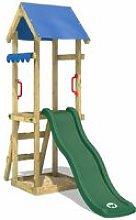WICKEY Parco giochi in legno TinySpot verde Torre