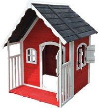 Wiltec - Casa casetta giochi per bambini in legno