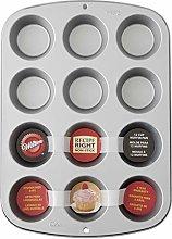 Wilton 03-3118 - Teglia per cupcake e muffin, 12