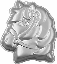 Wilton Forma Pony Teglia, Alluminio, Argento