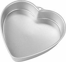 Wilton - Teglia per torta con cuore profondo, 22,9