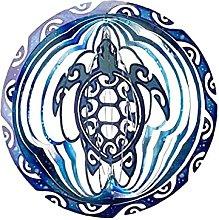 Wind Spinner 3D Metal Sea Turtle Wind Spinner