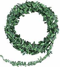 WINOMO Ghirlanda di foglie artificiali di edera,