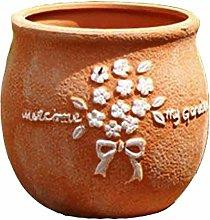 Wlnnes Decorazione da giardino coperta ceramica