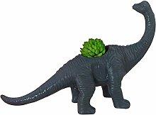 Wlnnes Dinosaur Animal Pattern Flower Pot Vaso for