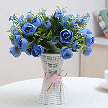 Wlnnes Rose Flower Home Decoration, Flower Pots