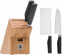 WMF Cuisine One Asia - Ceppo portacoltelli con set