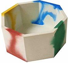 WMSD Stampi ottagonali in silicone per vaso di