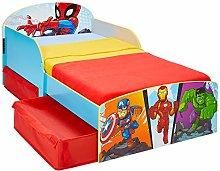 Worlds Apart Marvel Supereroe-Lettino per Bambini