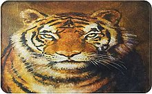 WOTAKA Tappetini per porte,da bagno,tappeti,Tiger