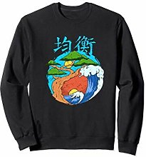 Wowsome! - Yin Yang Zen Buddhism Bonsai Tree Felpa