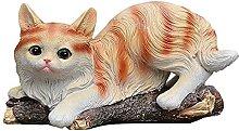 WQQLQX Scultura Animale Statua Gatto Scultura