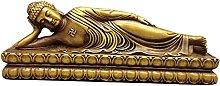 WQQLQX Scultura Bronzo Shakyamuni Buddha Statua