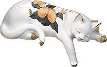WQQLQX Scultura Gatto Scultura Animale Statua