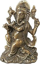WQQLQX Scultura Pure Bronzo Scultura Elephant
