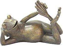 WQQLQX Scultura Simulazione Animale Statua Rana