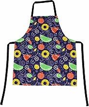 WQYH Grembiule da Cuoco Moda Stampa Cucina Cuochi