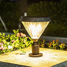 WRMING 10W LED Lampione da Giardino Esterno