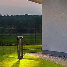 WRMING 15W LED Lampione da Giardino con Sensore di