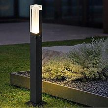 WRMING Moderno LED Lampione da Esterno da Terra,