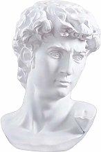 WSJF Decorazioni Statua Mini David Testa della