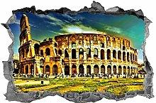 WTQang Decalcomanie da muro Adesivo 3D Colosseo