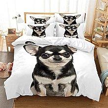 WTWE Biancheria da letto con stampa 3D,