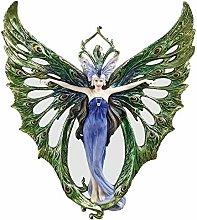 WU10307 Scultura da Parete Principessa Pavone