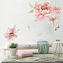 Wuixisajjh Adesivo Murale Floreale Romantico