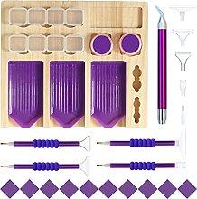 WuLi77 Set di accessori per pittura con diamanti