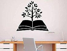 wwccy albero libro adesivo da parete biblioteca