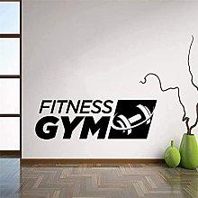wwccy palestra fitness segno adesivo da parete