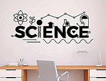 wwccy Scienza Adesivo Scuola Istruzione Home