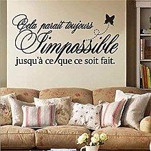 wwhhh adesivo adesivo regole della famiglia murale