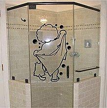 wwhhh adesivo bagno decorazione bagno tempo vinile