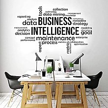 wwhhh adesivo business intelligence ufficio wall