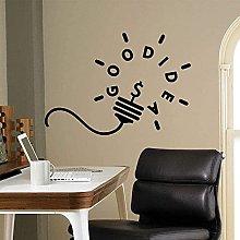wwhhh sticker motivazione wall decal buona idea