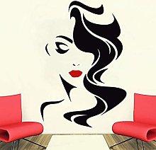 wwwff Adesivo murale salone di bellezza per donna